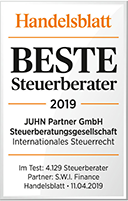 Bester Steuerberater für Internationales Steuerrecht